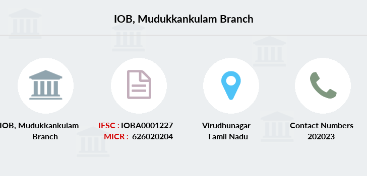 Indian-overseas-bank Mudukkankulam branch