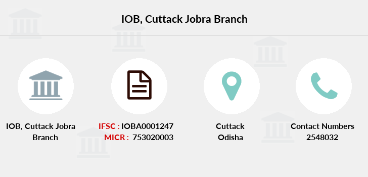 Indian-overseas-bank Cuttack-jobra branch