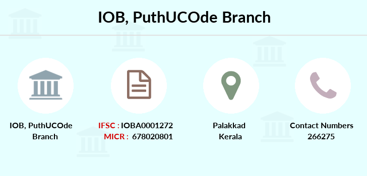 Indian-overseas-bank Puthucode branch