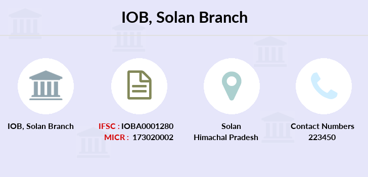 Indian-overseas-bank Solan branch