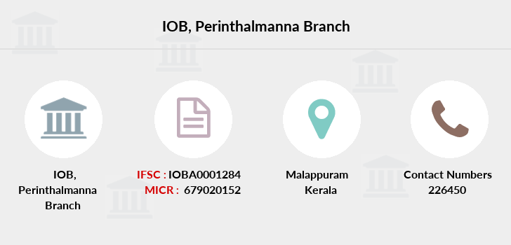 Indian-overseas-bank Perinthalmanna branch