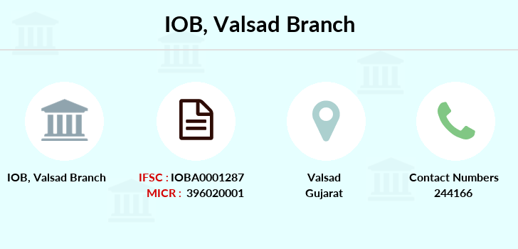 Indian-overseas-bank Valsad branch