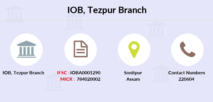 Indian-overseas-bank Tezpur branch