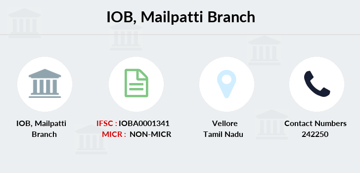 Indian-overseas-bank Mailpatti branch