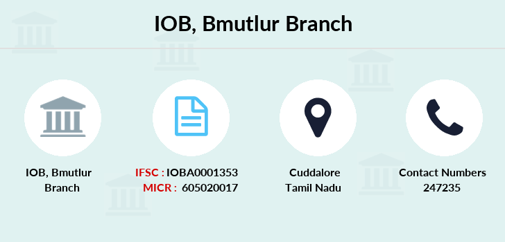 Indian-overseas-bank Bmutlur branch