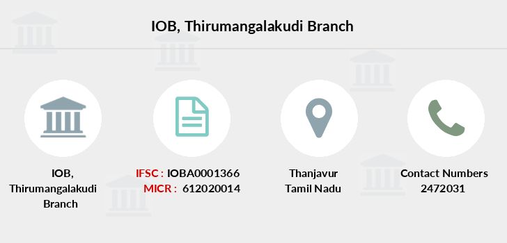 Indian-overseas-bank Thirumangalakudi branch
