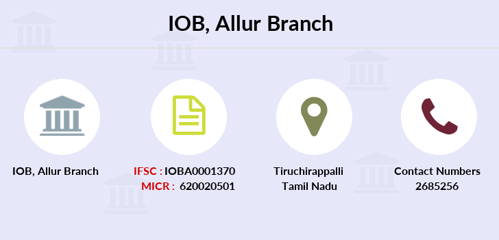 Indian-overseas-bank Allur branch