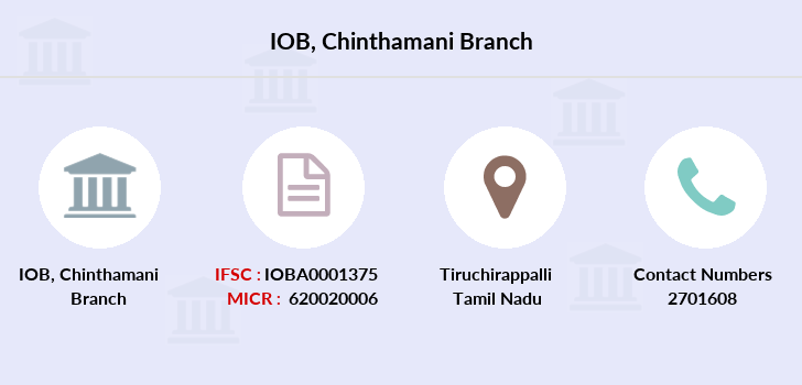 Indian-overseas-bank Chinthamani branch