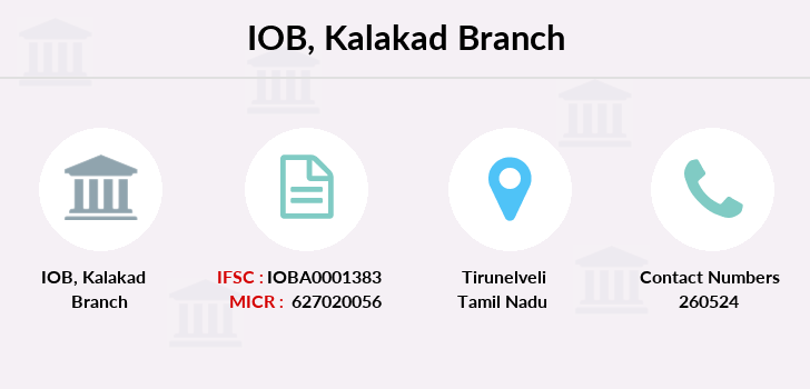 Indian-overseas-bank Kalakad branch