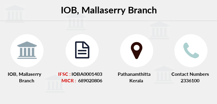 Indian-overseas-bank Mallaserry branch