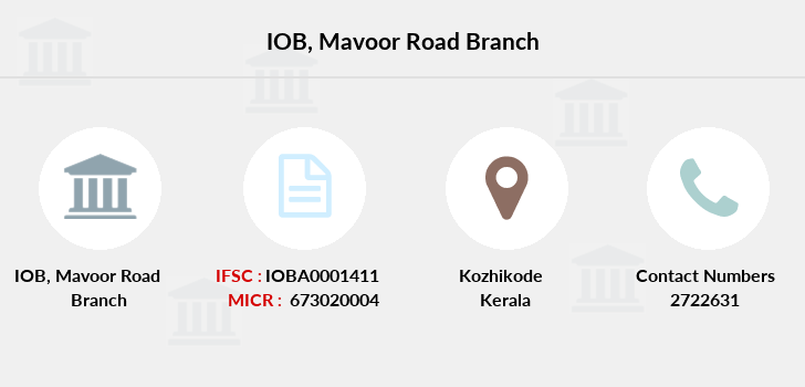 Indian-overseas-bank Mavoor-road branch