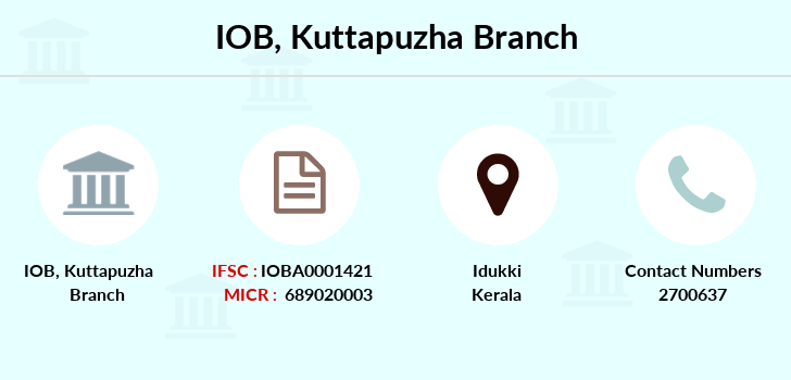 Indian-overseas-bank Kuttapuzha branch