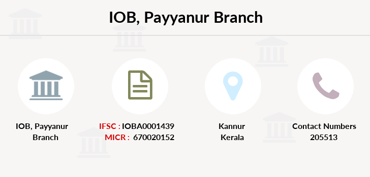 Indian-overseas-bank Payyanur branch