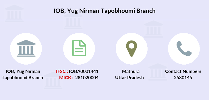 Indian-overseas-bank Yug-nirman-tapobhoomi branch