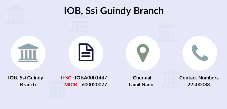 Indian-overseas-bank Ssi-guindy branch