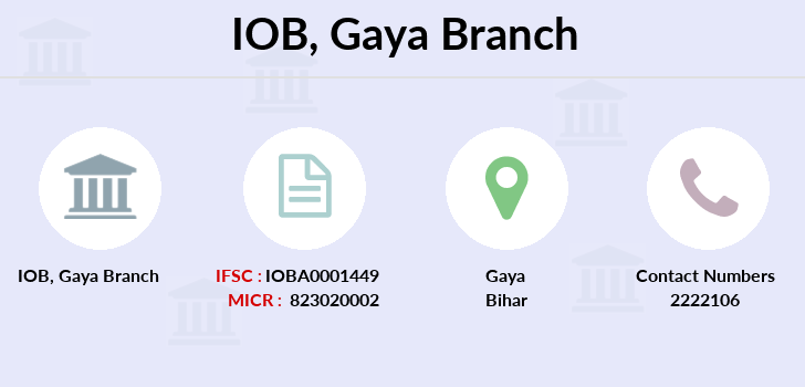 Indian-overseas-bank Gaya branch