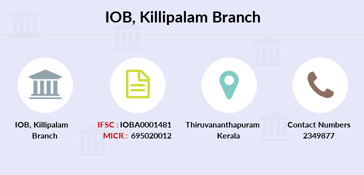 Indian-overseas-bank Killipalam branch