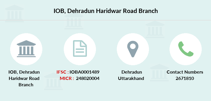 Indian-overseas-bank Dehradun-haridwar-road branch