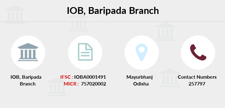 Indian-overseas-bank Baripada branch