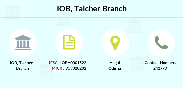 Indian-overseas-bank Talcher branch