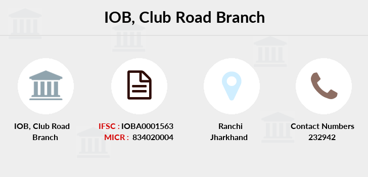 Indian-overseas-bank Club-road branch