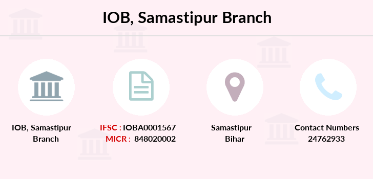 Indian-overseas-bank Samastipur branch