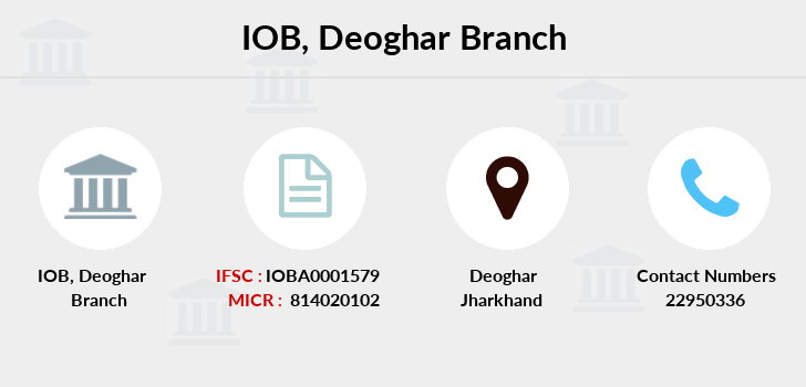 Indian-overseas-bank Deoghar branch