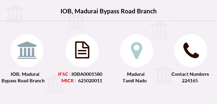 Indian-overseas-bank Madurai-bypass-road branch