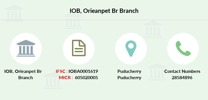 Indian-overseas-bank Orieanpet-br branch