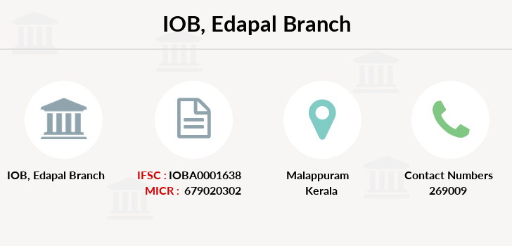 Indian-overseas-bank Edapal branch