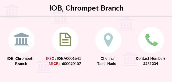 Indian-overseas-bank Chrompet branch