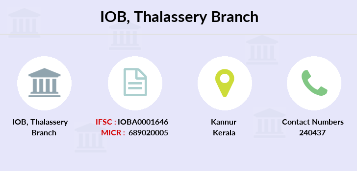 Indian-overseas-bank Thalassery branch
