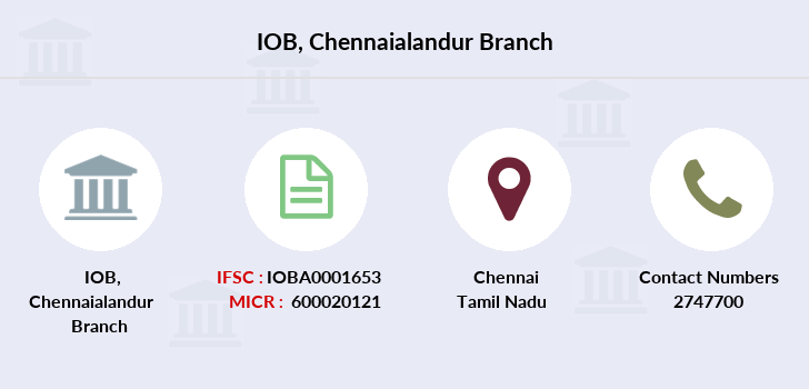 Indian-overseas-bank Chennaialandur branch