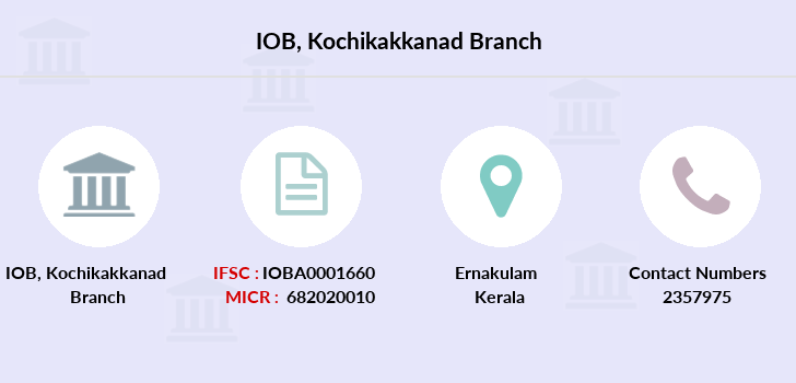 Indian-overseas-bank Kochikakkanad branch