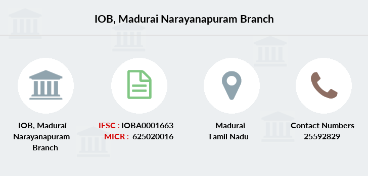 Indian-overseas-bank Madurai-narayanapuram branch