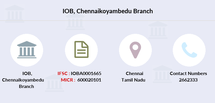 Indian-overseas-bank Chennaikoyambedu branch