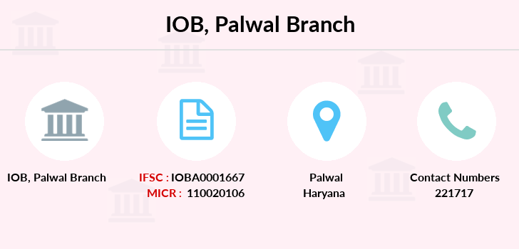 Indian-overseas-bank Palwal branch