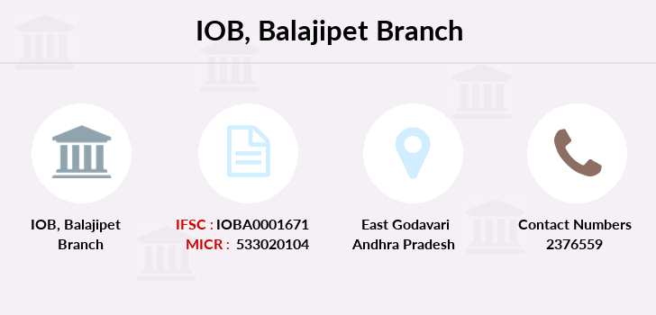 Indian-overseas-bank Balajipet branch