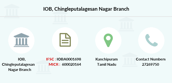 Indian-overseas-bank Chingleputalagesan-nagar branch