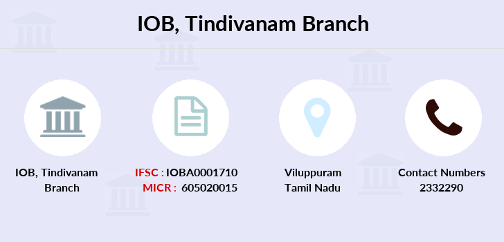 Indian-overseas-bank Tindivanam branch