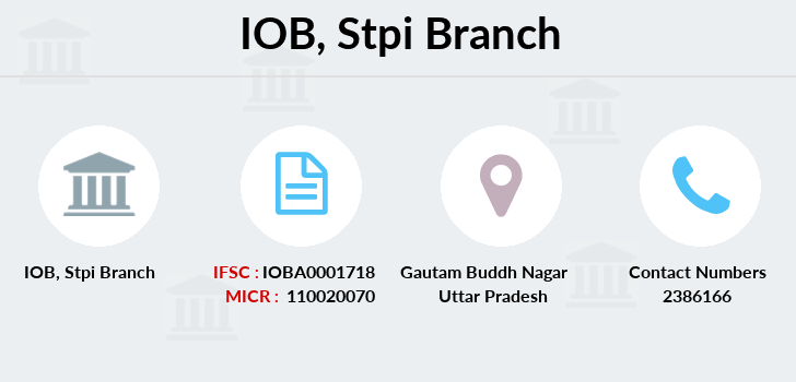 Indian-overseas-bank Stpi branch