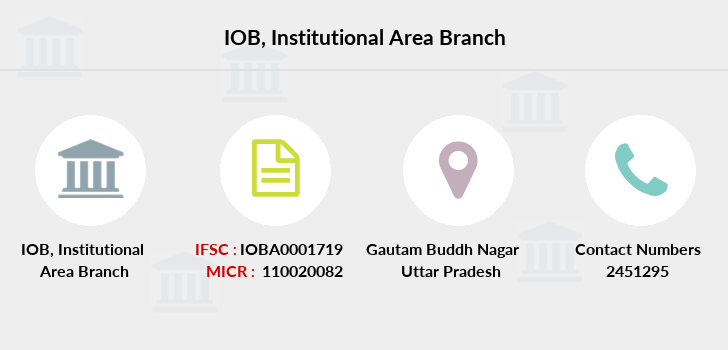 Indian-overseas-bank Institutional-area branch