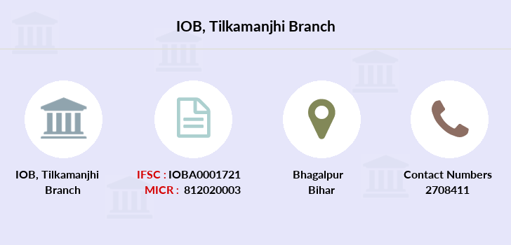 Indian-overseas-bank Tilkamanjhi branch