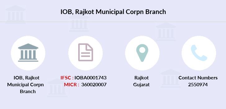 Indian-overseas-bank Rajkot-municipal-corpn branch