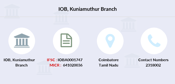 Indian-overseas-bank Kuniamuthur branch