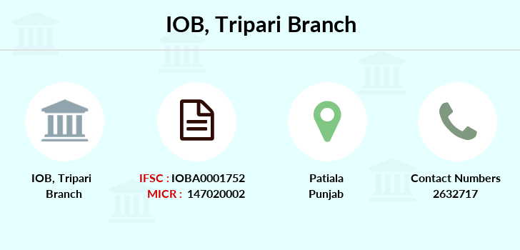 Indian-overseas-bank Tripari branch