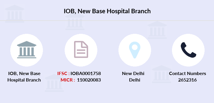Indian-overseas-bank New-base-hospital branch