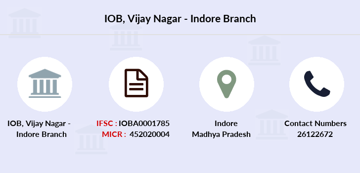 Indian-overseas-bank Vijay-nagar-indore branch