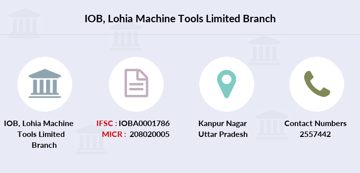 Indian-overseas-bank Lohia-machine-tools-limited branch