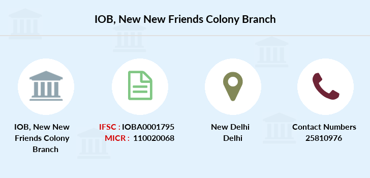 Indian-overseas-bank New-new-friends-colony branch